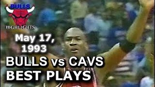 1993 Bulls vs Cavaliers game 4 highlights