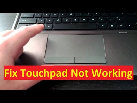 asus touchpad left and right click not working
