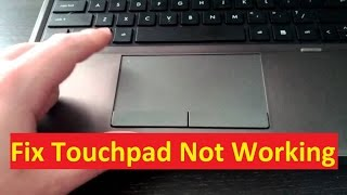 Laptop Touchpad Not Working Problem!! Fix - Howtosolveit
