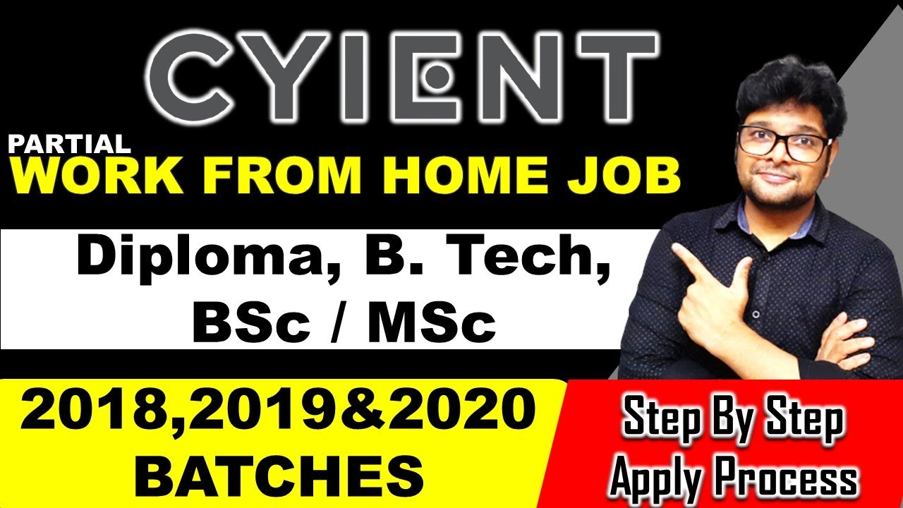 Work from home jobs 2021 | Cyient Recruitment 2021 in Telugu | Latest jobs 2021 | V the Techee