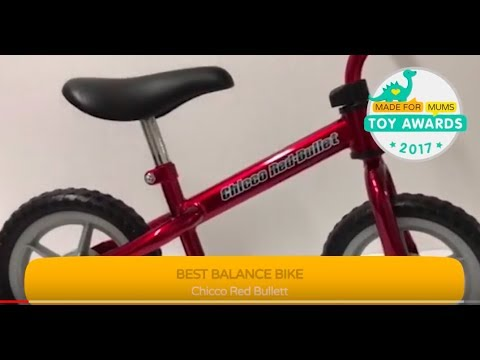 a4c110d699d Chicco Red Bullet Balance Bike, Gold Winner, MadeForMums Toy Awards 2017