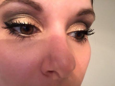Smouldering Gold and Black Smokey Eye | Eye Makeup Tutorial | Karina D.