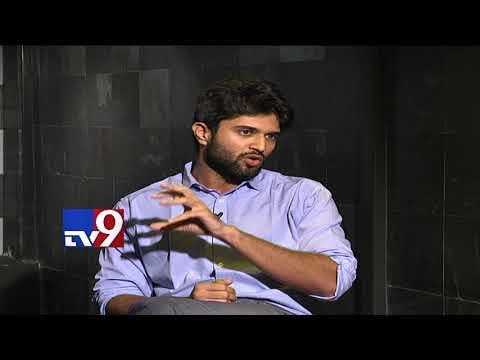 "Vijay Devarakonda talks about "" Abusing women with cuss words "" - TV9"
