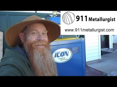 ICON I150 Centrifugal Gold Concentrator Unboxing
