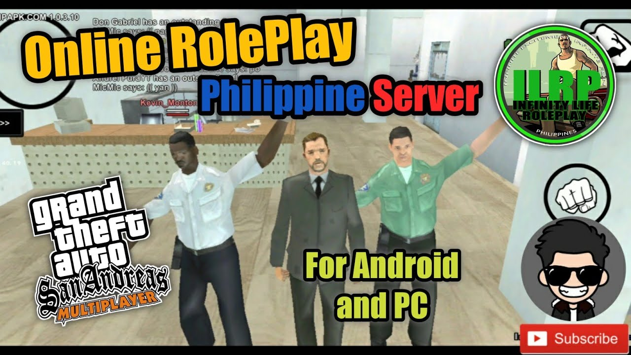 NEW PH Server Tutorial! GTA San Andreas Online RolePlay for Android and PC || Infinity Life RolePlay
