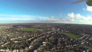 dji phantom quadcopter FPV chatham, kent, uk feb 2014