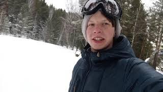 Интересные эксперименты номер 6 Прогулка с собакой на лыжах в соседнюю деревню