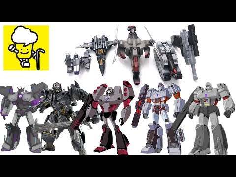 Different Megatron Megatronus Transformer Robot Toys ランスフォーマー 變形金剛 Robots In Disguise