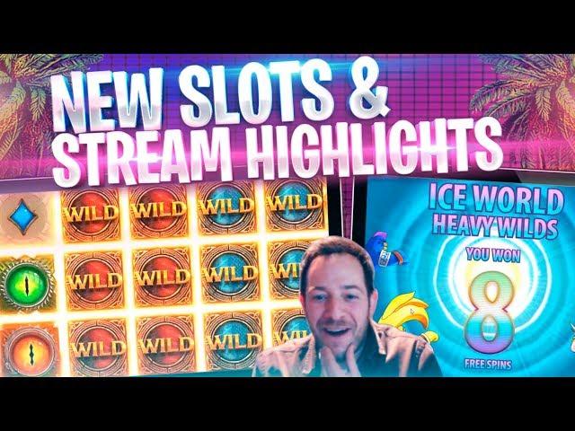 NEW SLOTS & NICE WINS! Stream Highlights Inc Wild Worlds & Wolf Legend