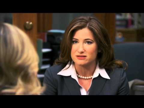 "Parks and Recreation ""Second Chunce"" Kathryn Hahn scene"