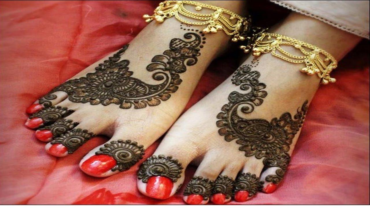 Leg Mehndi Designs Step By Step : How to make mehndi designs step by for legs yt fashion week