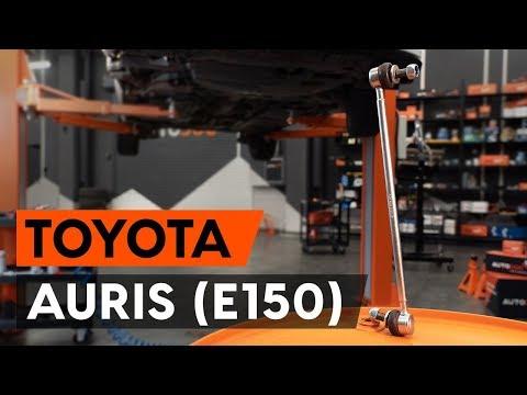 Как заменить тягу стабилизатора передней подвески на TOYOTA AURIS 1 (E150) [ВИДЕОУРОК AUTODOC]
