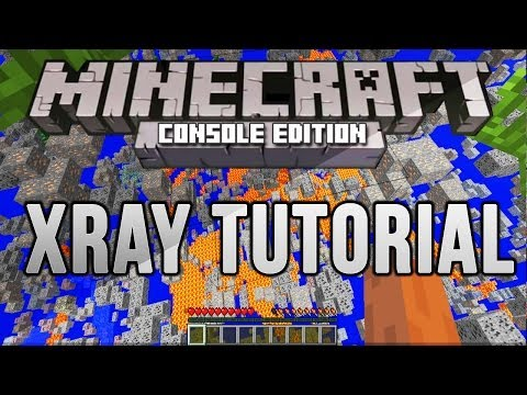 Minecraft PS3/Xbox360: How To Get the X-Ray Mod (NO COMPUTER NEEDED!)