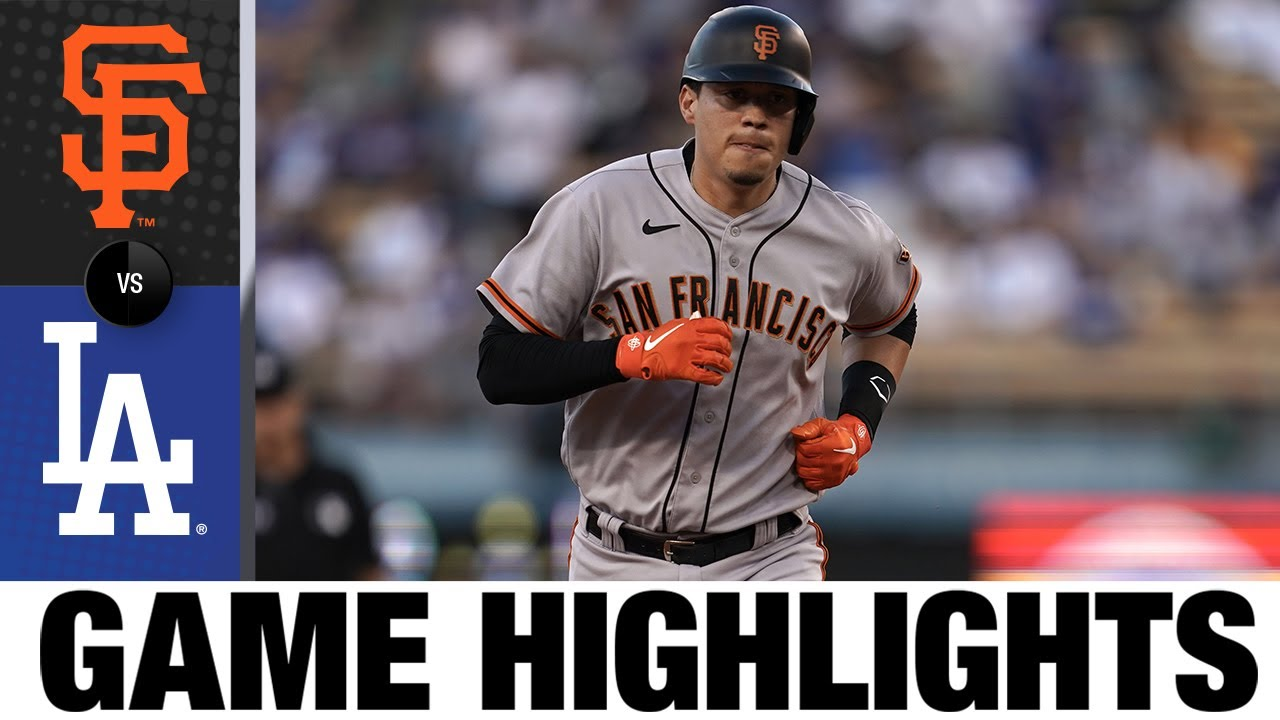 Download Giants vs. Dodgers Game Highlights (7/19/21) | MLB Highlights