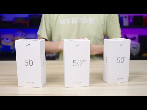 Honor 50 Pro   Honor 50 SE   Honor 50 - UNBOX & REVIEW