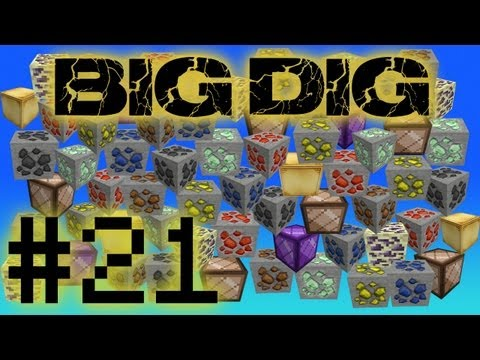 Minecraft Big Dig - Magic! #21