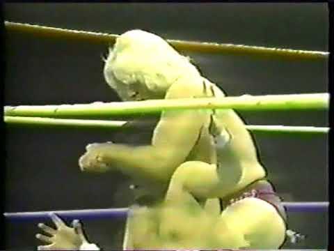 RIC FLAIR VS BOBBY GARRETT 1981 **LEGIT ARM BREAK