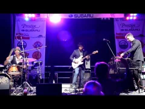 Alan Evans Trio - Who Dare Knock @ River Music Festival in Asheville, NC 9-13-13