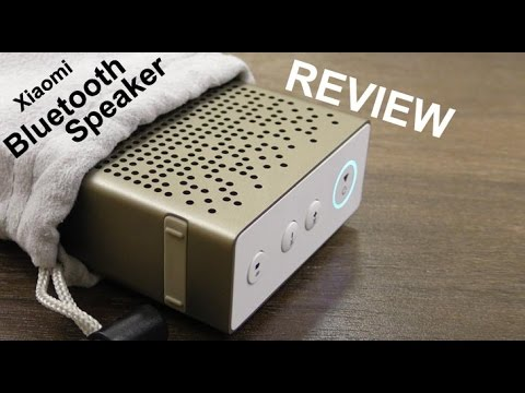 Xiaomi Bluetooth Speaker review - built in Mic and Aux in