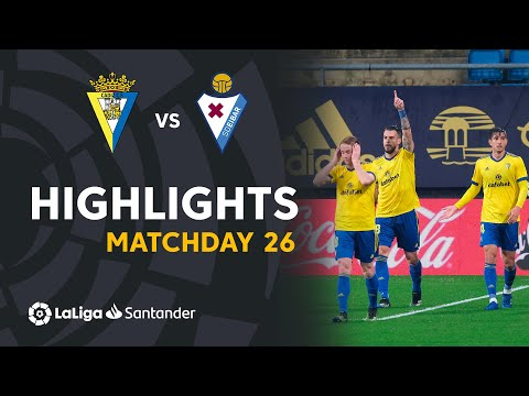 Cadiz Eibar Goals And Highlights