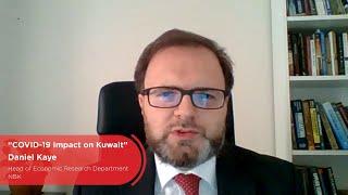 """COVID-19 Impact on Kuwait"" by Daniel Kaye, NBK"