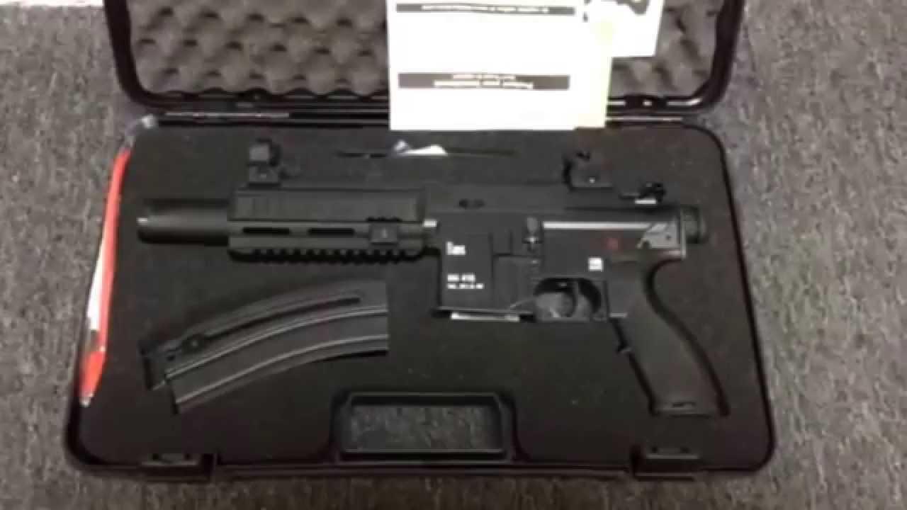 H&K 416 AR pistol buffer tube adapter for KAK blade or SB (Ammo AZ)