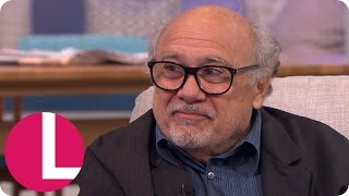 Danny Devito Gets His Troll Foot Out And Has Lorraine In Stitches! | Lorraine