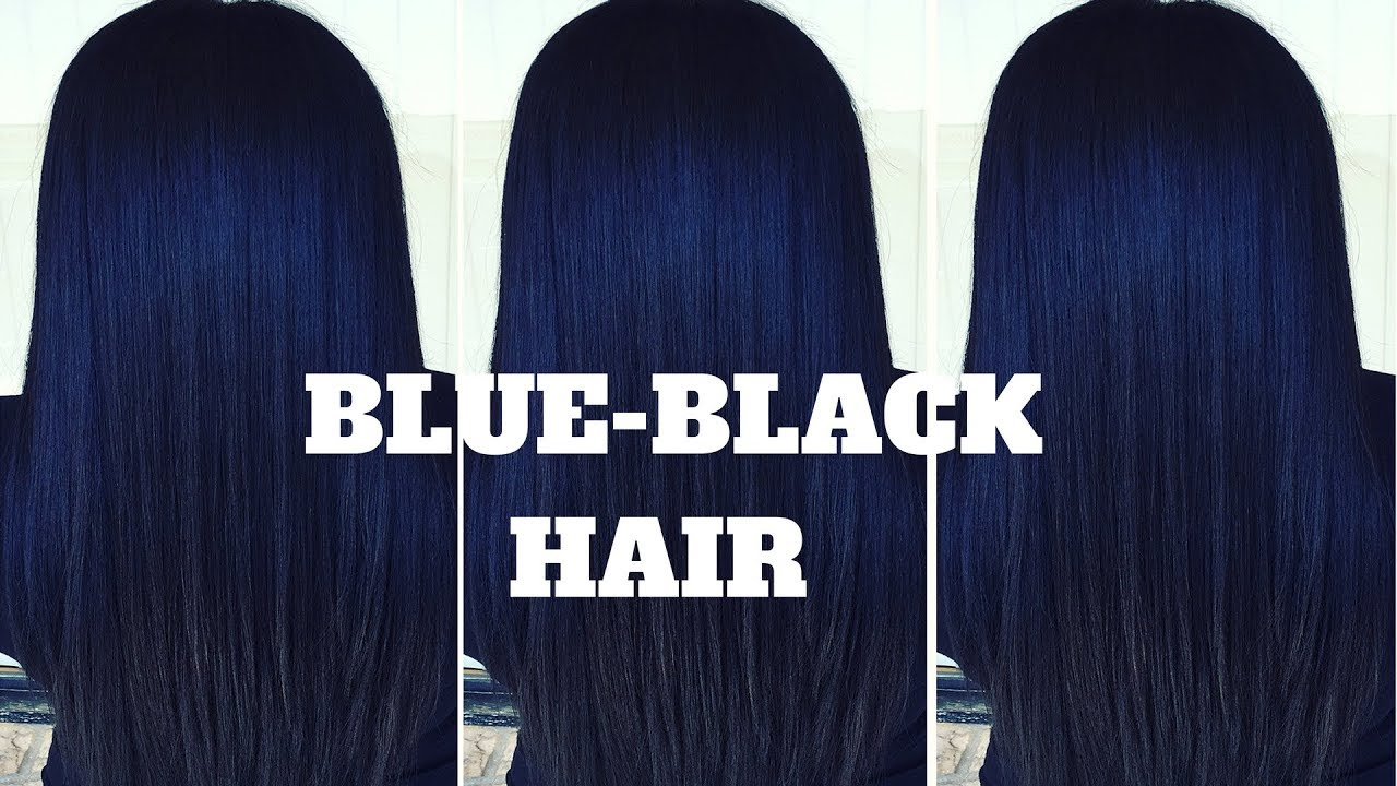 Dying My Hair Black with Blue Undertones  NO BLEACH  ft. Julia Hair