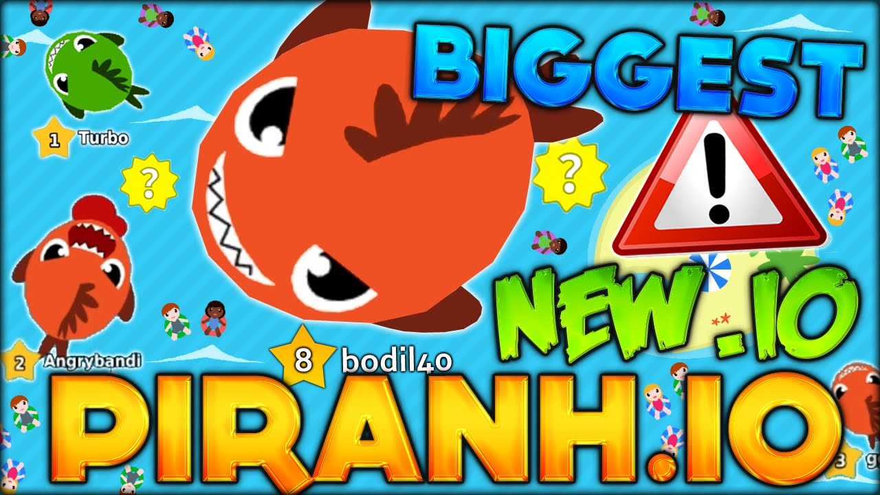 Becoming the biggest fish in the new best io game for Fish io games