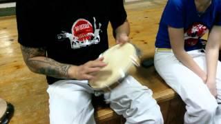 Урок от professor Cicatriz Capoeira Camara
