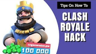 Clash Royale Hack 2017 - How To Hack Clash Royale - Hack Clash Royale - Free Gems