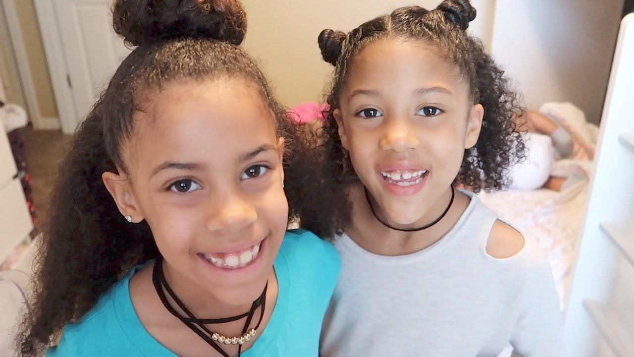 5 Minute Hairstyles for Curly Hair   TheBaileySisters ...