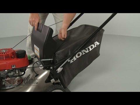 Lawn Mower Grass Bag Replacement – Honda Lawn Mower Repair (part #81320-VL0-P00)