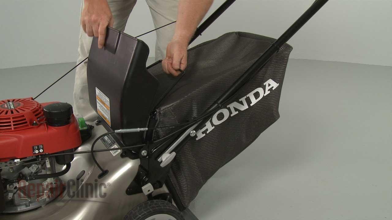 Honda Lawn Mower Grass Bag Replacement #81320-VL0-P00 - YouTube