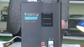 видео Однофазный стабилизатор напряжения ЭНЕРГИЯ СНВТ-10000/1 Hybrid