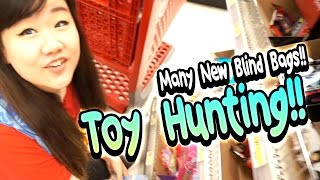 TOY HUNTING - So Many New Blind Bags and Sale Items!! - Steven Universe, MixieQs, Shopkins and MORE!