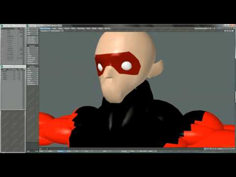 Advanced Cartoon Character Modeling Series: Animatic Modeling by Jesse Mesa Toves - Sample 01