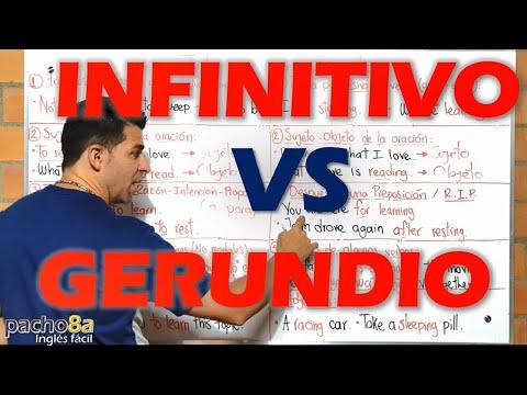 Download Gerundio VS Infintivo – ¿Cómo usarlos? Diferencias y ejemplos detallados