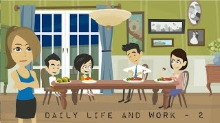 Actions - Daily Life & Work - 02 - English Lessons for Life - Daily English Lessons