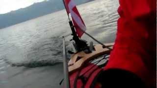kayak bic yakkair à moteur electrique