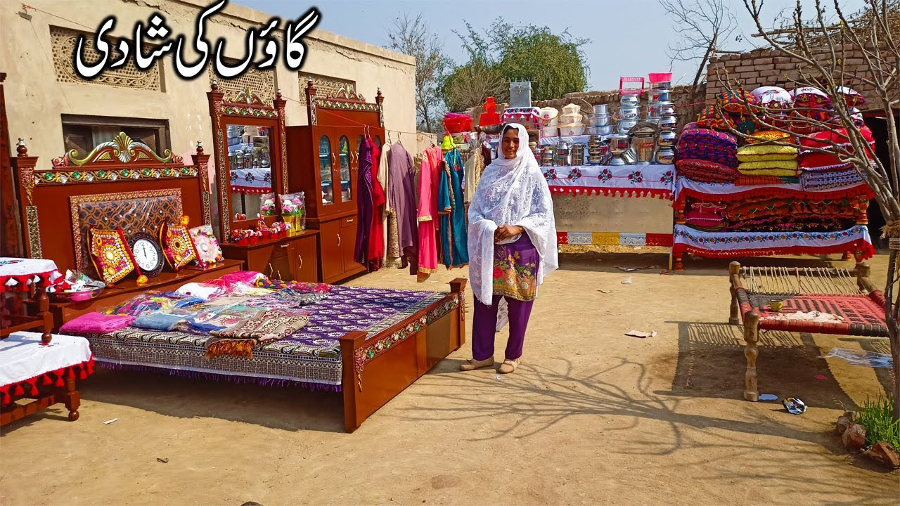 Gaon ki Shaadi I Pure Punjab Village Shadi in Pakistan I Dehat ki Shadi