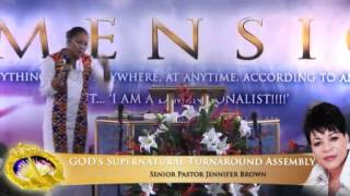 Pastor Jennifer Brown - GOD