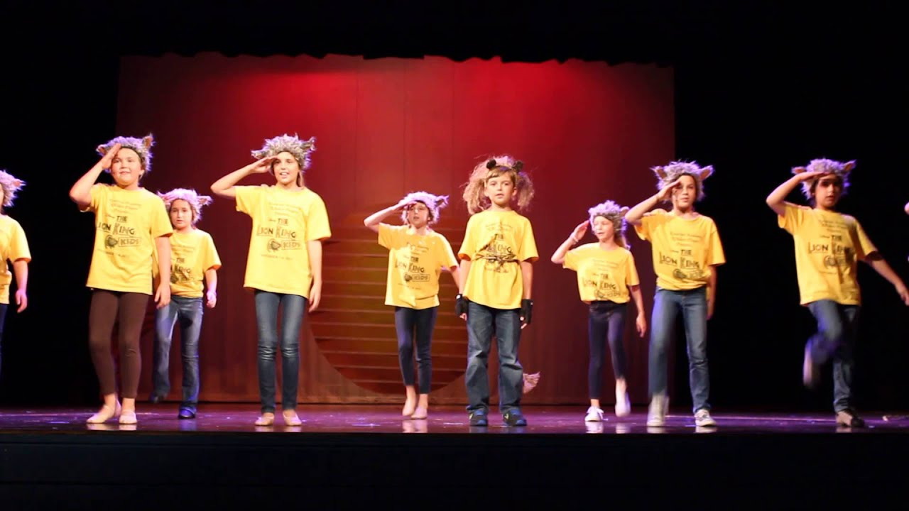 disney the lion king kids play preview  be prepared