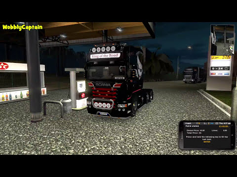 ETS2 Heavy Haulage 78t Oversize Load | Part 1|