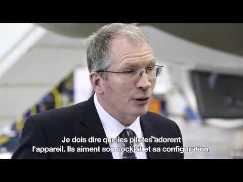 Salon de l'aéronautique de Singapour -- Nouvelles du programme CSeries avec Rob Dewar