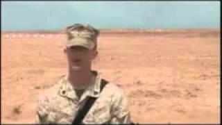 تدريب الجنود المغاربة من طرف المارينز