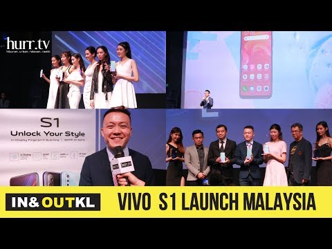 VIVO S1 Launch Malaysia | In & Out KL