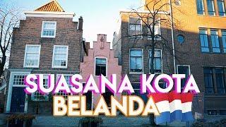 Bikin Betah Suasana Kota Di Belanda! | Leiden | Alternative For Amsterdam! | Rezzvlog (english Sub)
