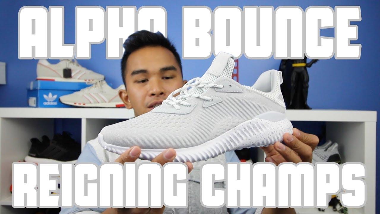 734a089b3c11e LATEST PICKUP  Adidas Alpha Bounce x Reigning Champs Collab x Reigning  Champs Collab