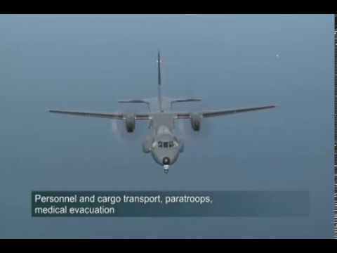 Airbus Defence and Space - C295 Maritime Patrol Aircraft (MPA) & Anti-Submarine Warfare (ASW) [480p]